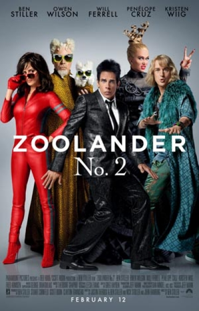 Win Movie Tickets - Zoolander 2