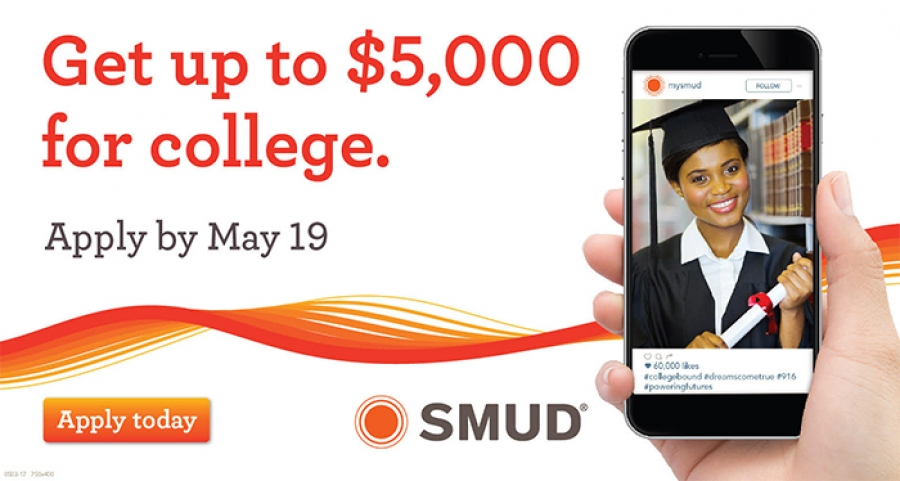 APPLY now for SMUD Powering Futures Scholarships
