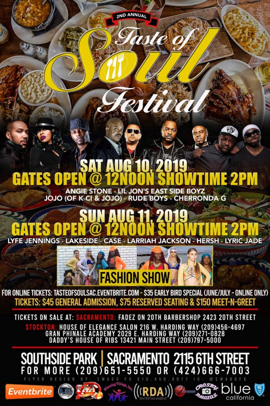 2nd Annual Taste Of Soul Sacramento