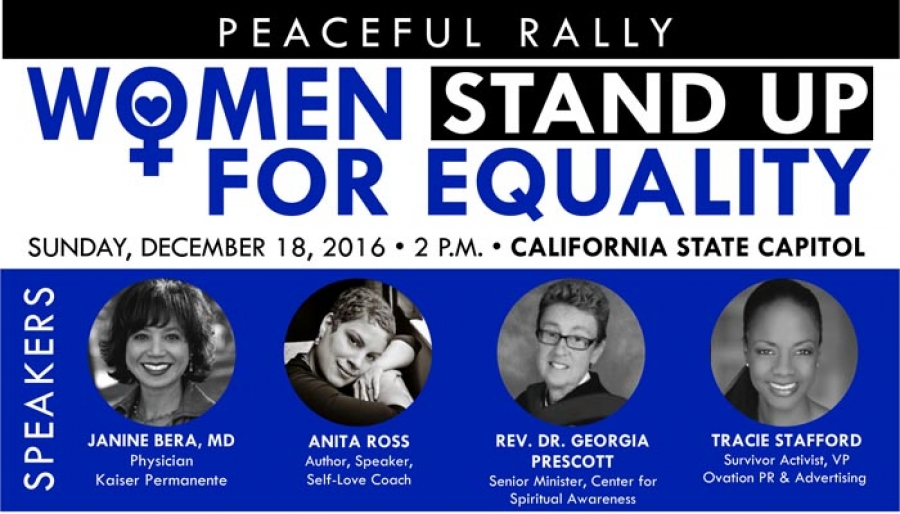 California Women to Rally for Equality