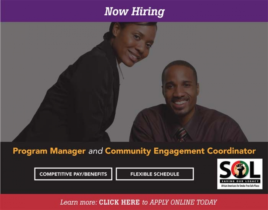 Join Our Team - NOW HIRING - Program Manager & Community Engagement Coordinator