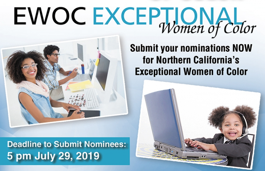 Submit Nominees for 2019 Exceptional Women of Color-EWOC Excellence Awards