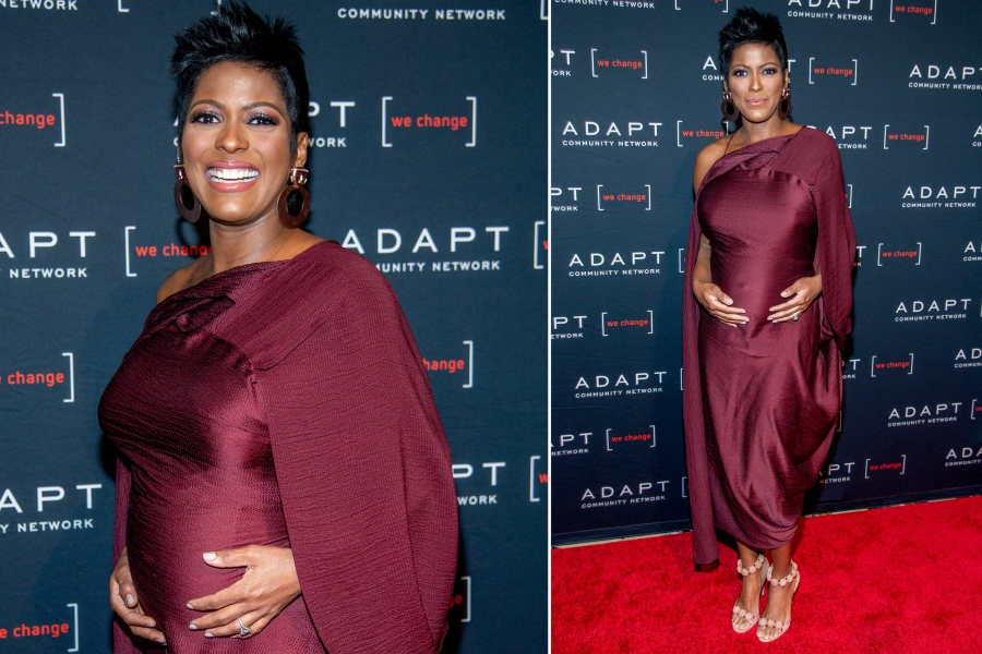 Why Tamron Hall Kept Her Pregnancy at Age 48 a Secret