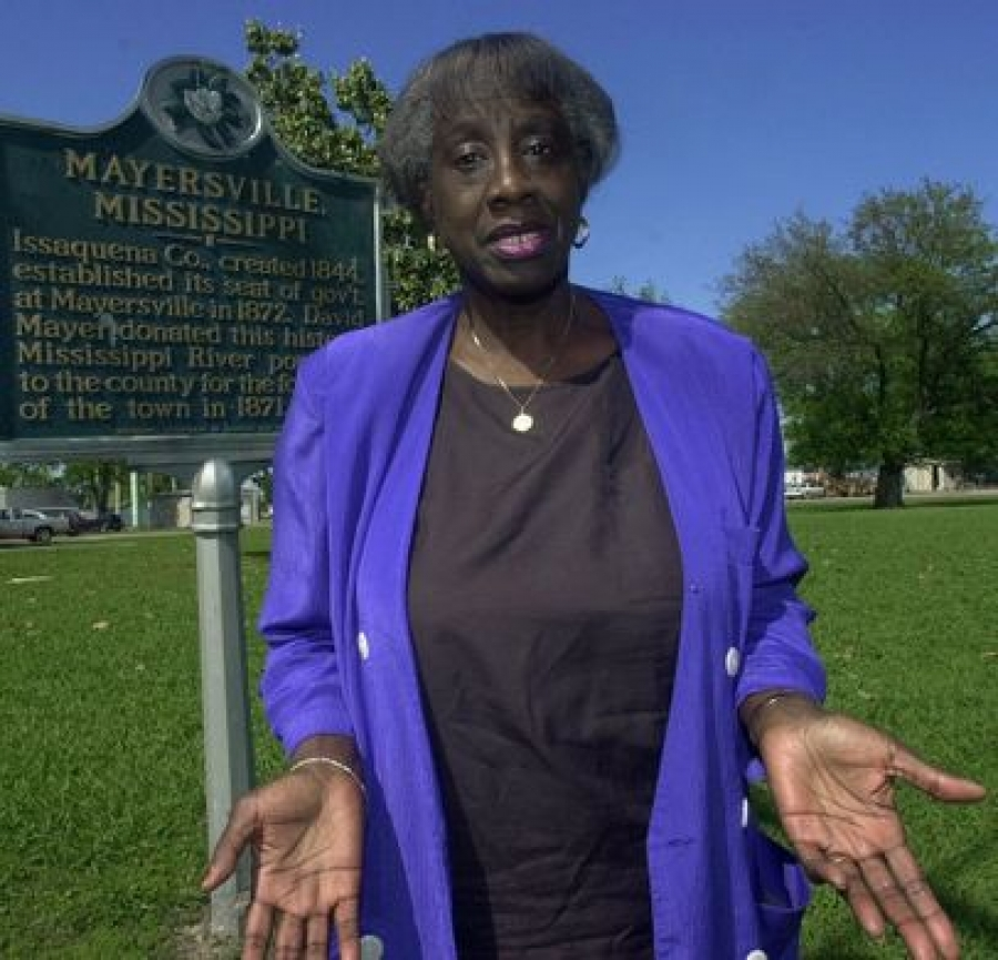 Unita Blackwell, the first black female mayor in Mississippi, dies at 86