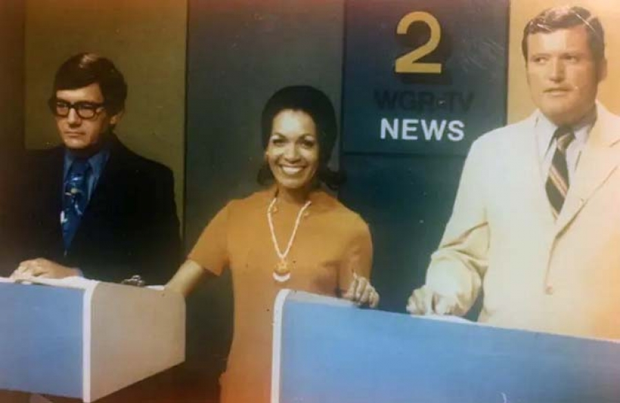 June Bacon-Bercey broke barriers when she became the first African American woman to receive a degree in meteorology, and later was the nation's first female TV meteorologist.