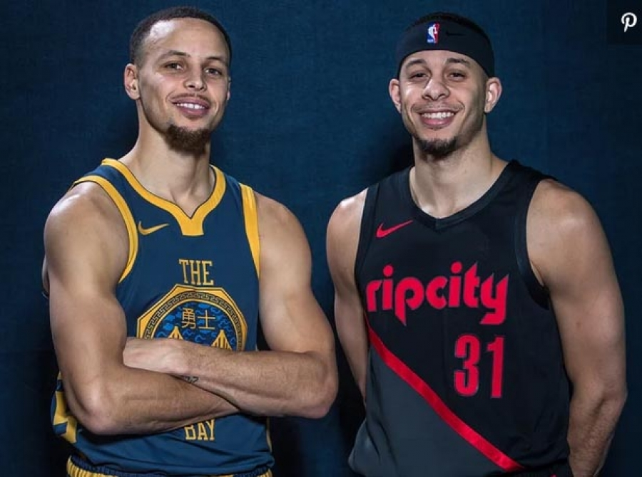 Steph Curry and His Brother Seth Will Face Off in NBA Western Conference Finals