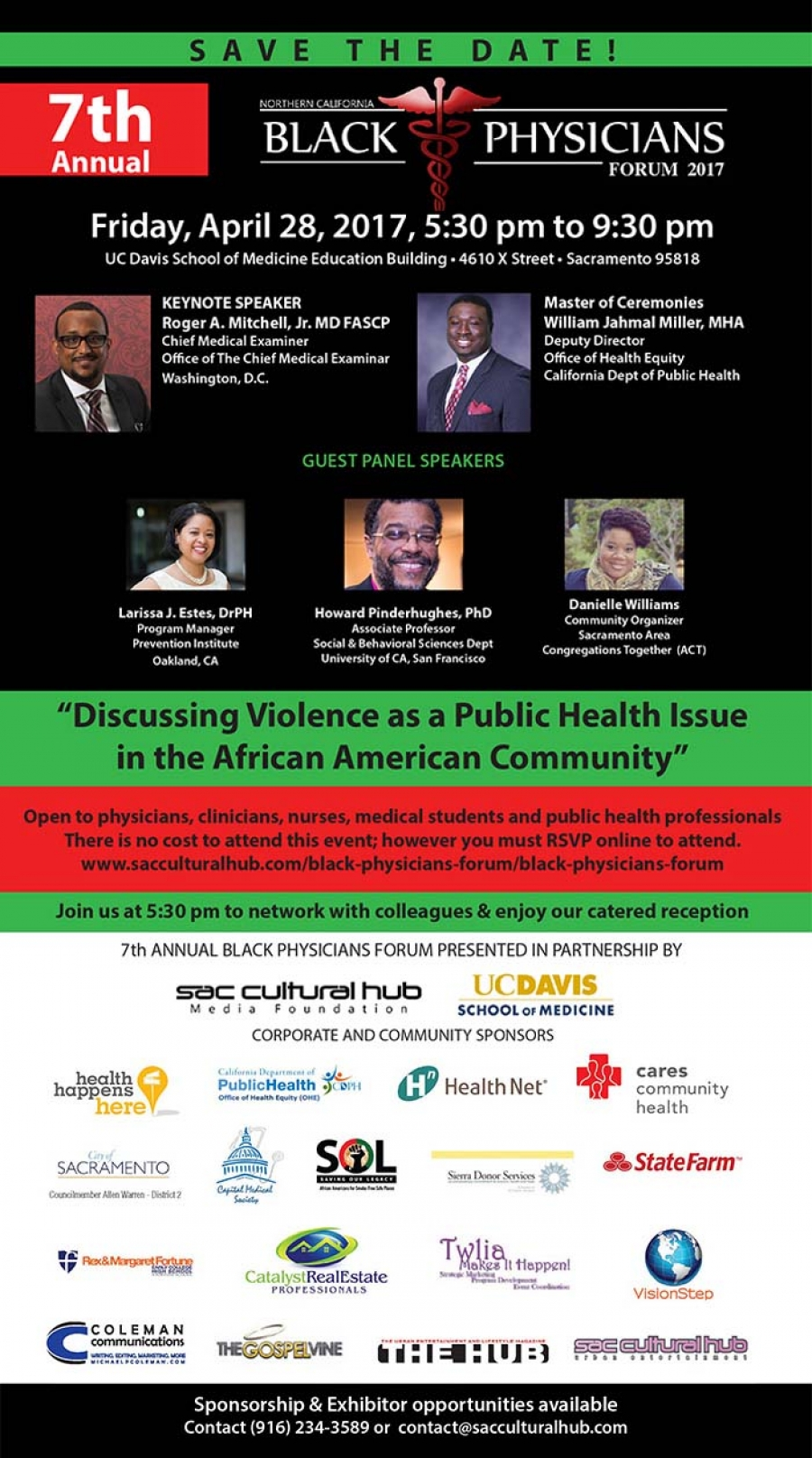 7th Annual Black Physicians Forum in Sacramento