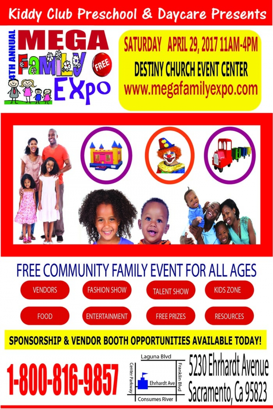 4th Annual MEGA FAMILY EXPO - Saturday, April 29