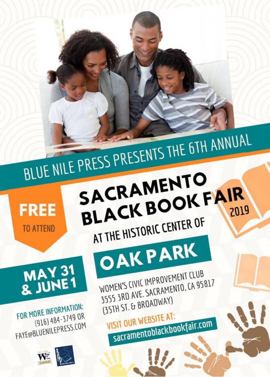 Join us for the 6th Annual Sacramento Black Book Fair May 31-June 1