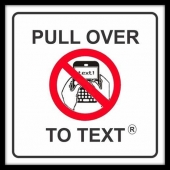 Pull Over Before Texting! We know we should…and now there's an App for that!
