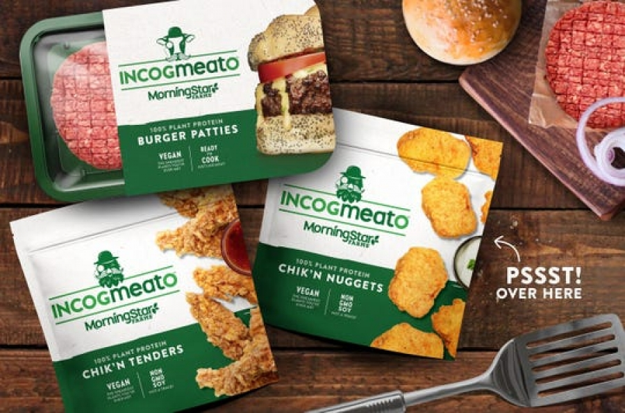 'Incogmeato?' Kellogg is the latest to introduce plant-based burger