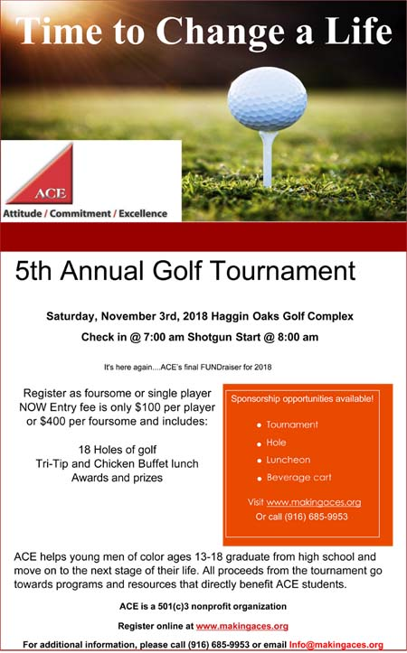 ACE Golf Tournament