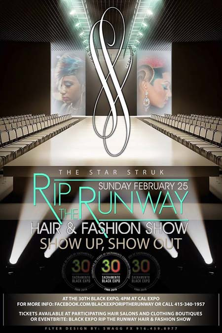 RIP the Runway Hair and Fashion Show