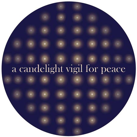 A Candlelight Vigil for Peace