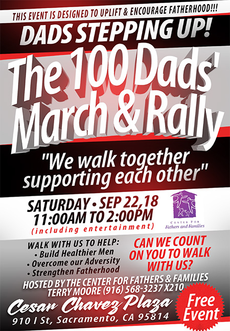 Dads Stepping Up Rally 2018