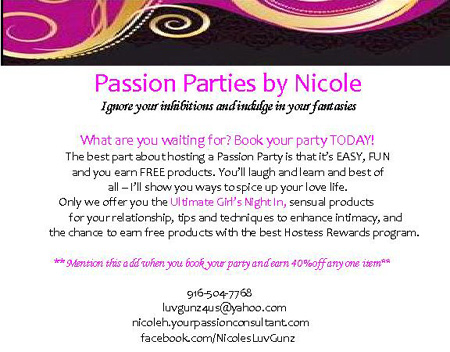 Host a Passion Party