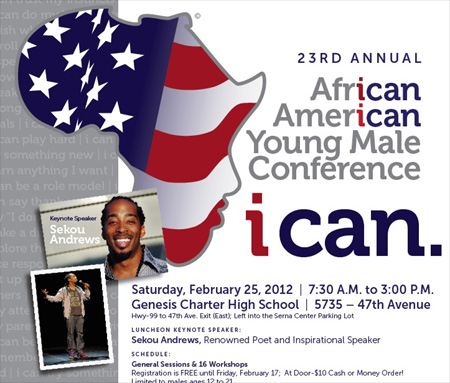 Register Online for the Northern California African American Young Male Conference