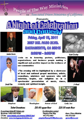 Night of Celebration and Comedy