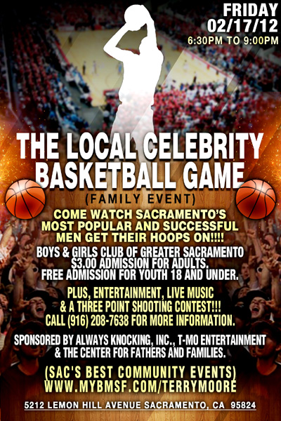 2nd Annual Local Celebrity Basketball Gamel