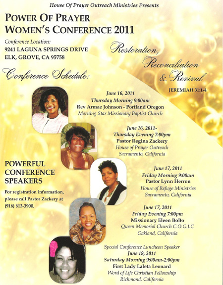 Women's Prayer Conference
