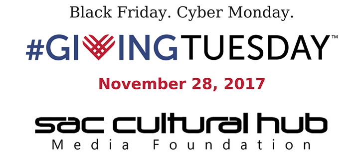 Giving Tuesday is November 28