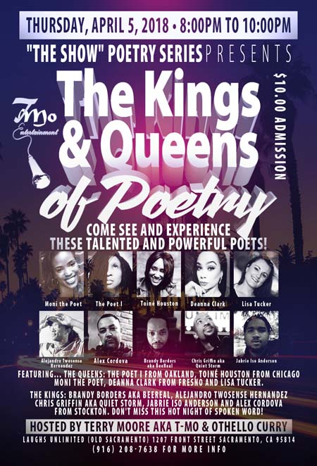 Kings and Queens of Poetry