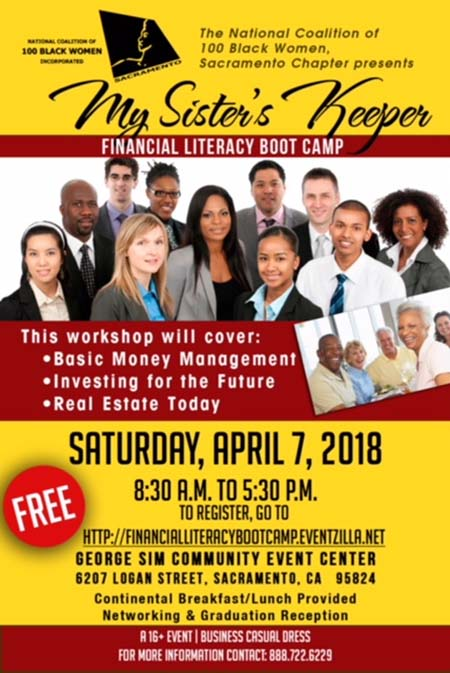 My Sister's Keeper Financial Literacy Boot Camp