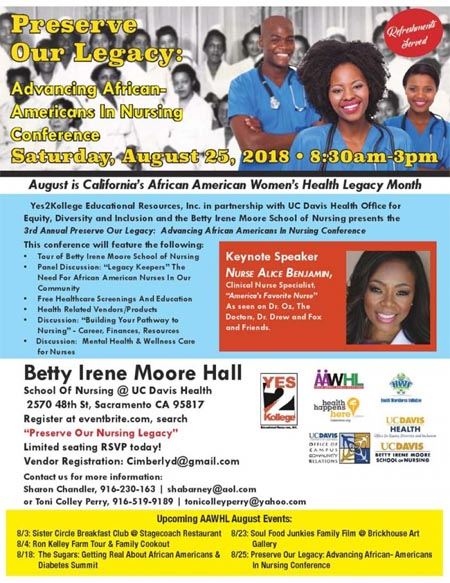 Advancing African American in Nursing Conference