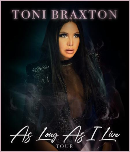 Toni Braxton on Tour