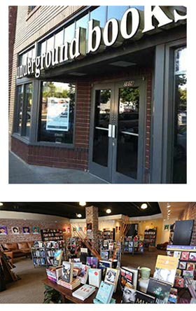 Undergound Books in Sacramento