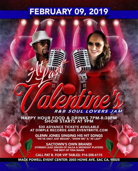 At Last Valentine's R&B Soul Lovers Jam