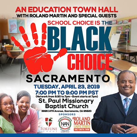 Education Town Hall with Roland Martin