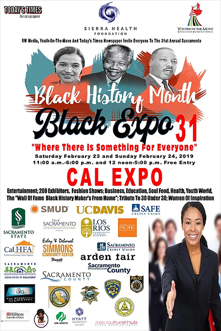 Sacramento Black Expo Feb 23-24 at Cal Expo Exhibit Halls