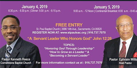 2019 Leadership Conference with Pastor Kenneth Reece