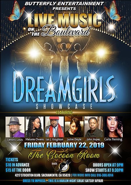Live Music on the Boulevard with the Dreamgirls Showcase