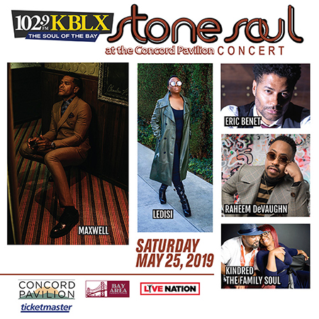 Stone Soul Concert - Saturday, May 25th
