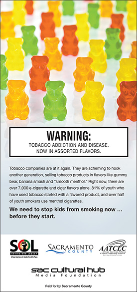 HELP US to stop kids from smoking now