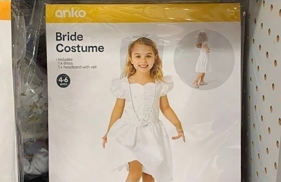 K-Mart Should Return The Bride Halloween Costume, And Maybe Offer A Hooker One. Now THAT's A Blue Light Special
