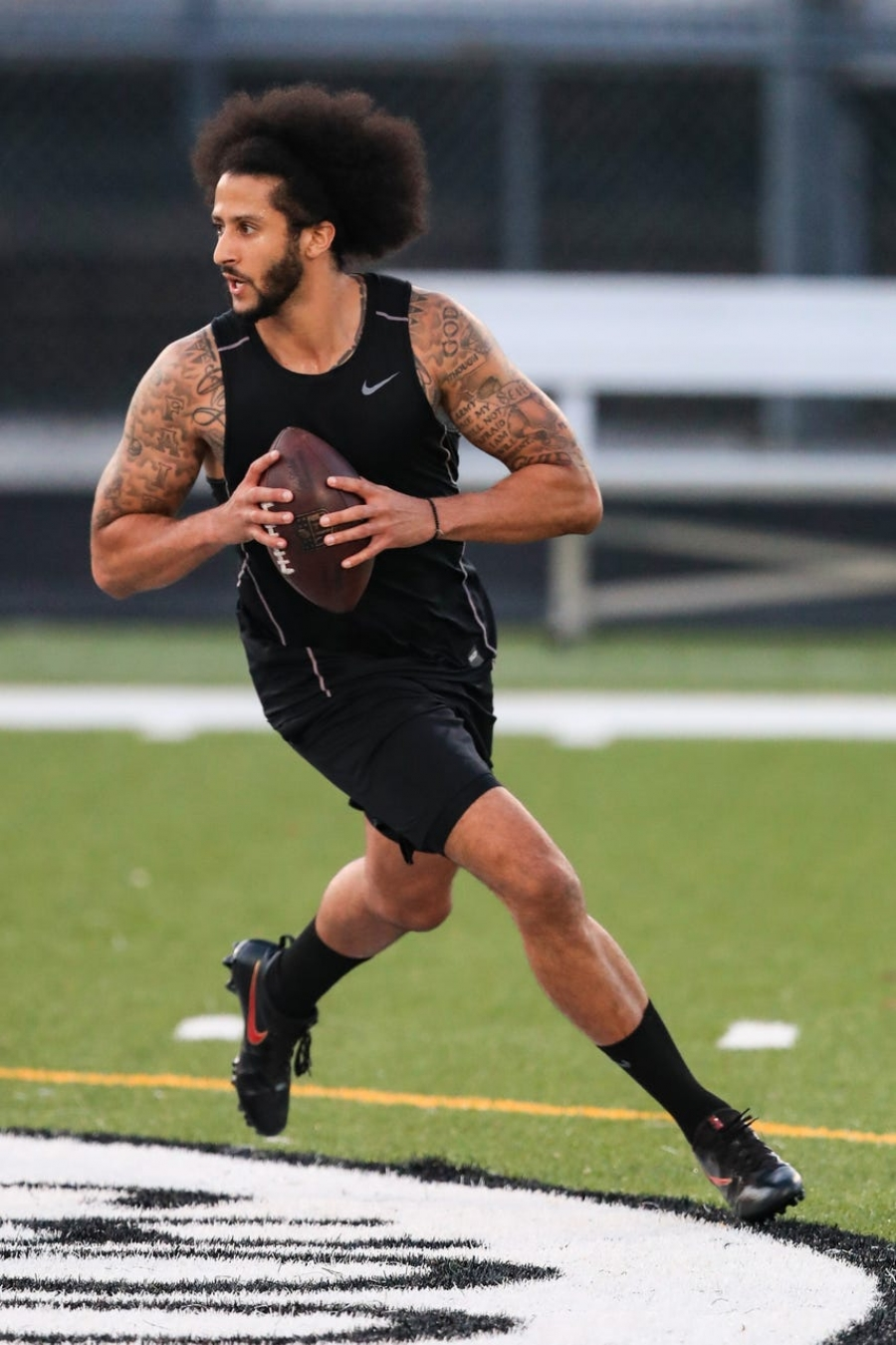 After scrapping NFL workout for his own, Colin Kaepernick speaks: 'I've been ready for three years, I've been denied for three years'