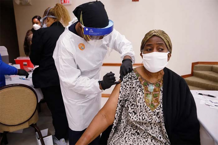 Churches are becoming COVID-19 vaccination sites for people of color