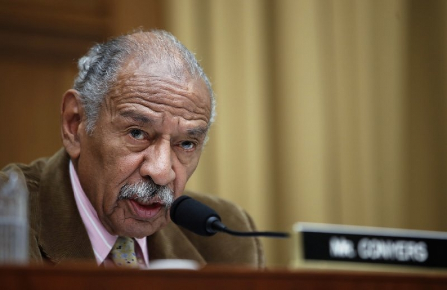 Former top staffer accuses Conyers of inappropriate touching
