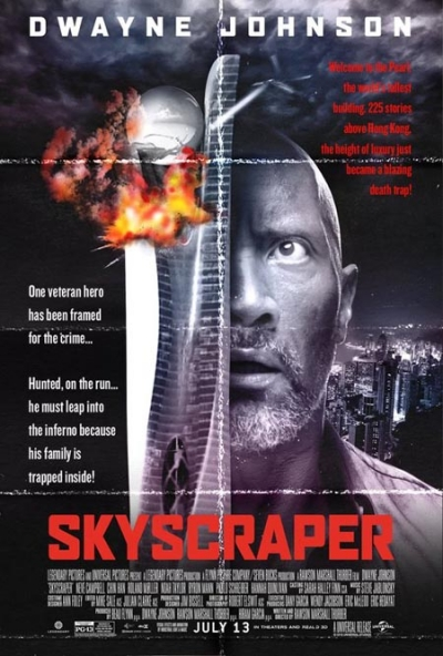 Skyscraper, Opening in Theaters July 13th