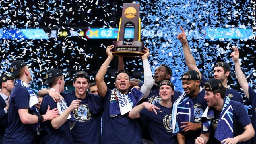 Villanova dominates Michigan to win 2nd national title in 3 years