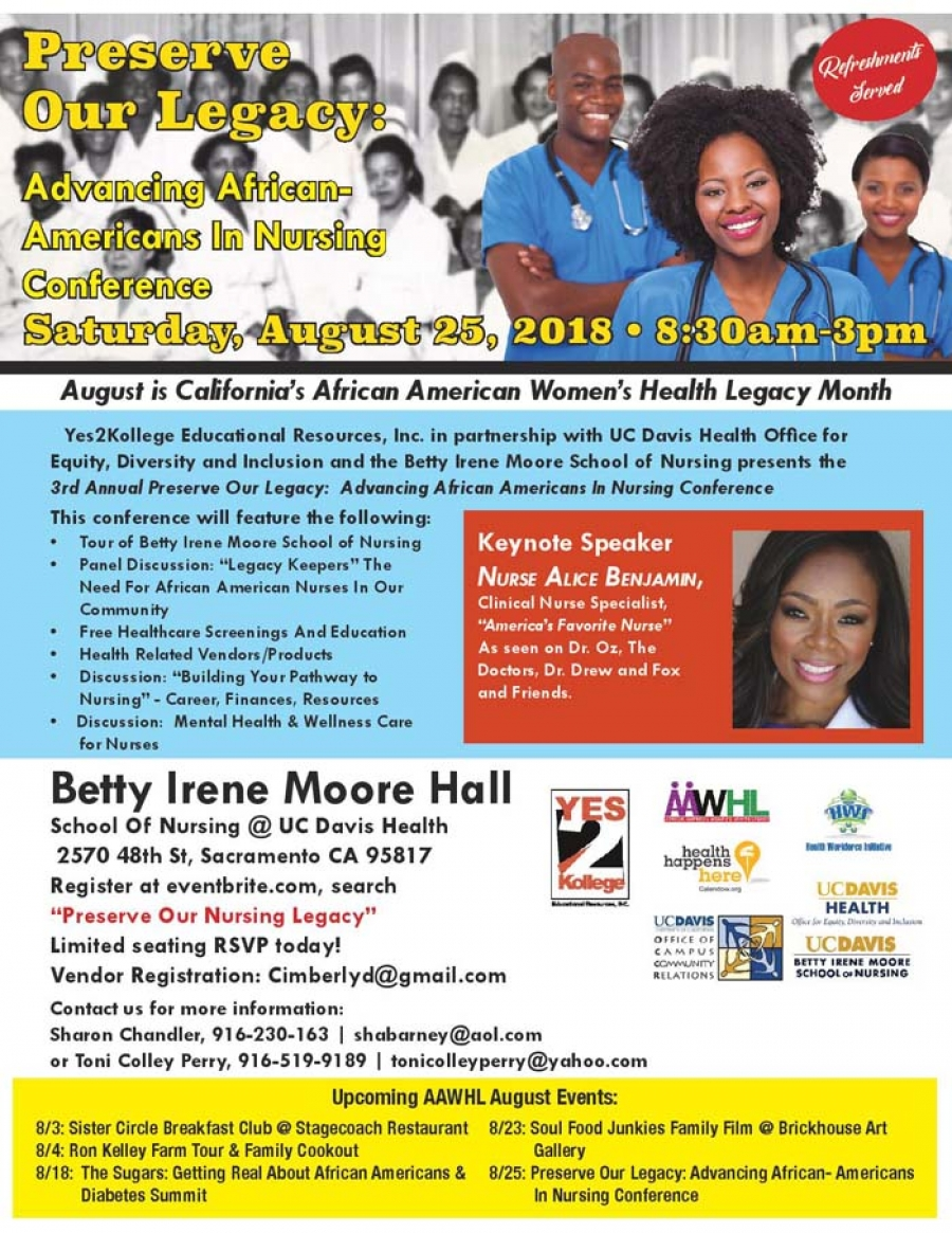 3rd Annual Preserve Our Legacy: Advancing African American In Nursing Conference