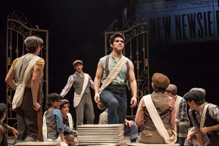 HUB REVIEW:  Disney's Newsies at the Wells Fargo Pavilion
