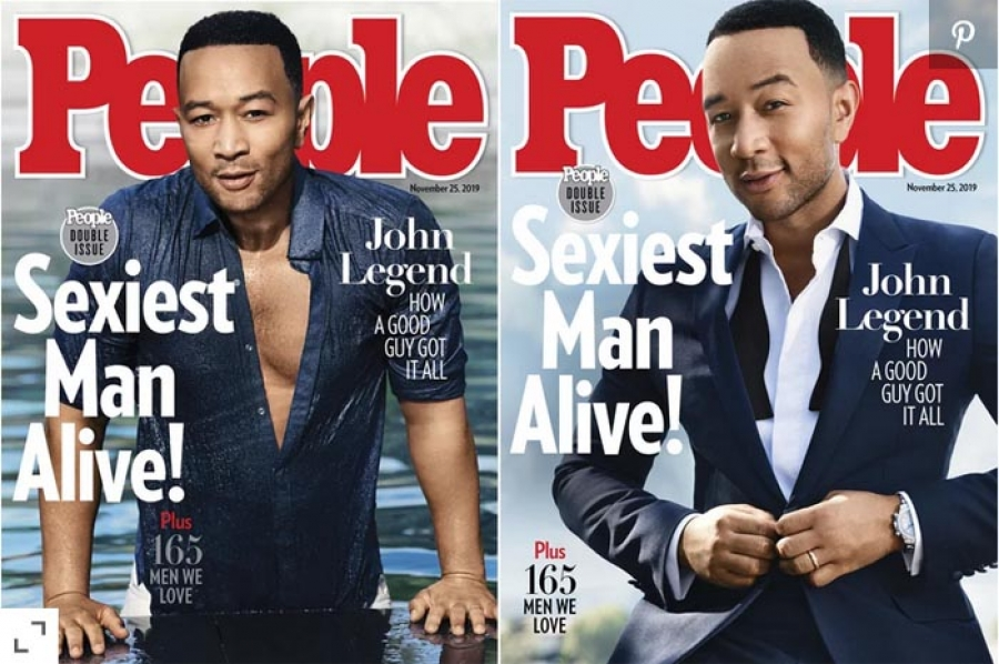 John Legend Named People Mag's 2019 Sexiest Man Alive