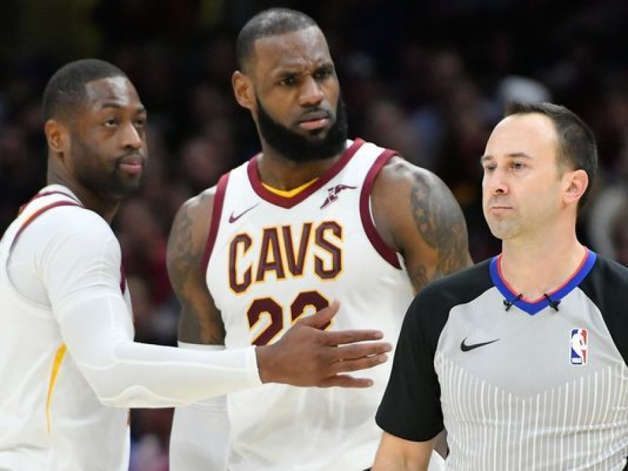 LeBron James ejected for first time in career in game against Miami Heat