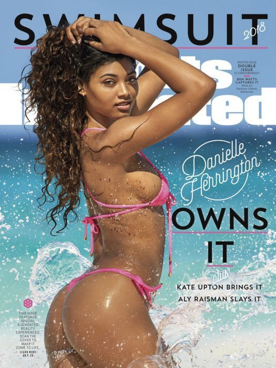 Danielle Herrington Is the 2018 Sports Illustrated Swimsuit Cover Model: 'It's a Dream Come True'