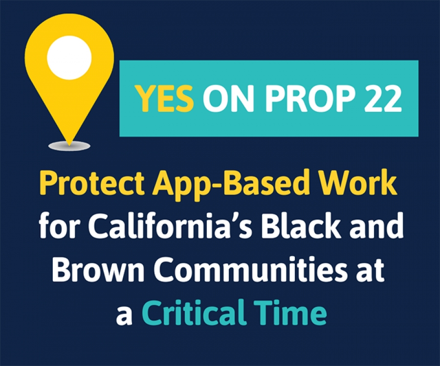 Vote Yes on Prop 22 - Save App-Based Jobs & Services