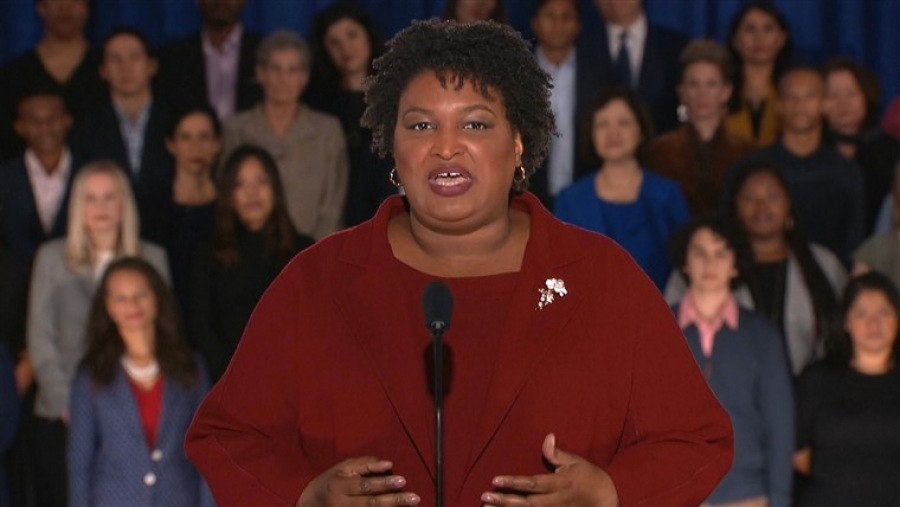 Stacey Abrams blames Trump for shutdown in State of the Union response: 'Political games'